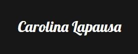 carolina lapausa actriz logo pie pagina