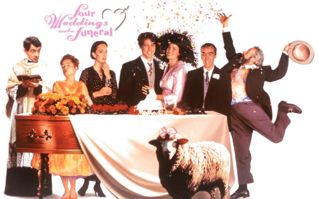 Cuatro bodas y un funeral de muerte